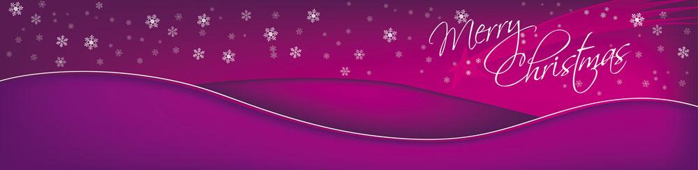 Merry-Christmas-Karte-lila