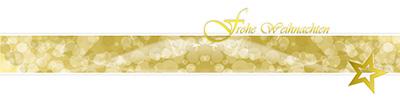 Weihnachtskarte-weiß-gold-quer-lang