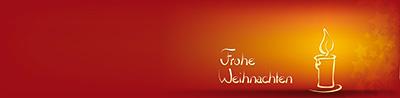 Weihnachtskarte-orange-Kerze-quer