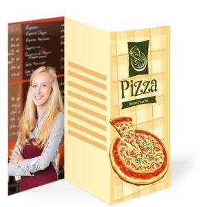 Pizzaflyer Folder DIN A3
