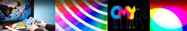 Farbräume Montage