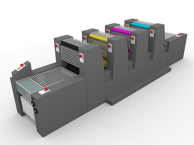 Offset-Druckmaschine
