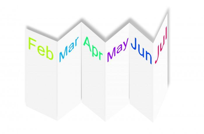 Faltkalender Druck Bei Rainbowprint