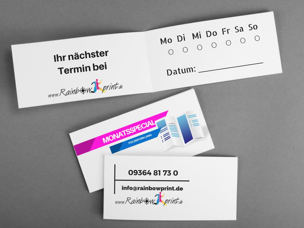 Visitenkarten Online Gestalten Und Drucken Bei Rainbowprint