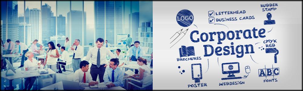 Unternehmen benötigen Drucksachen mit dem eigenen Corporate Design