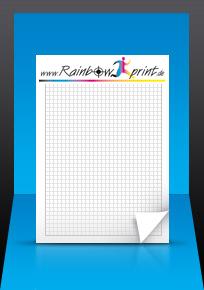 Schreibblöcke Druck Bei Rainbowprint