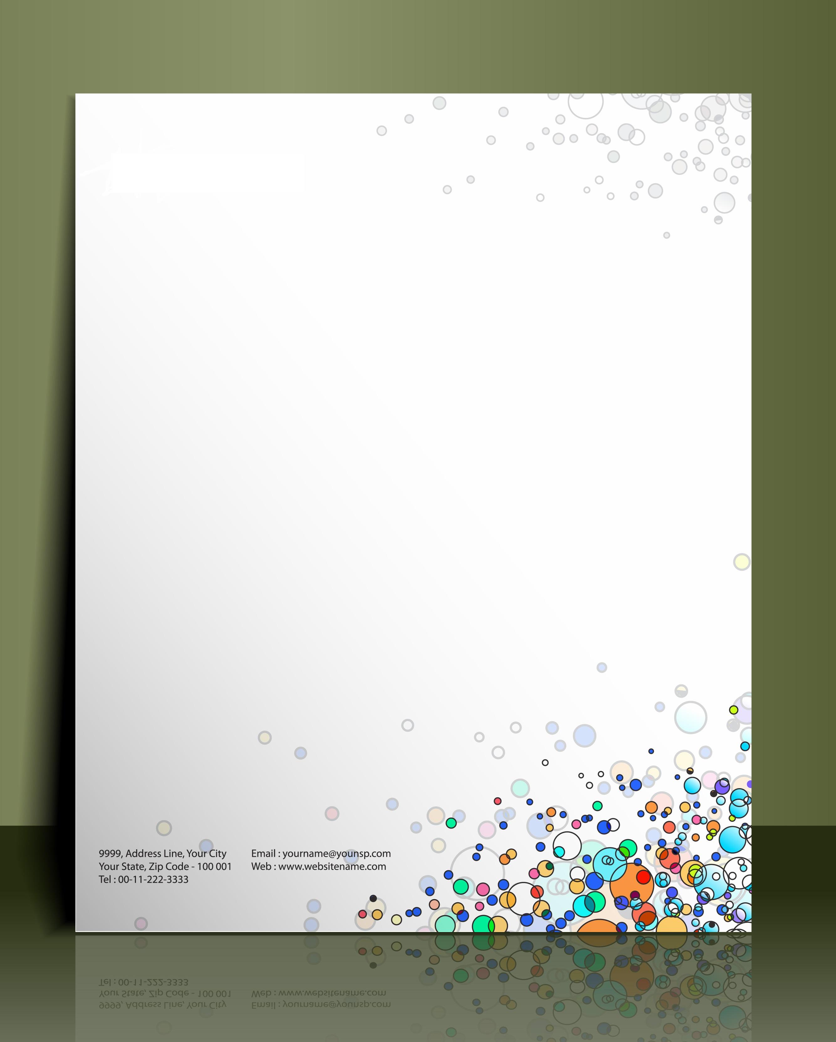 Briefpapier Druck Bei Rainbowprint