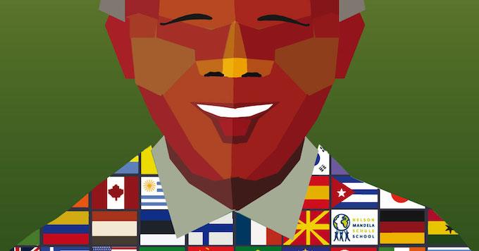 "Rainbowprint Ist Sponsor Beim ""Festival Of Nations"" Der Nelson-Mandela-Schule, Berlin"