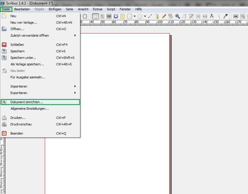 Druckdaten erstellen mit Scribus - kostenlos und professionell