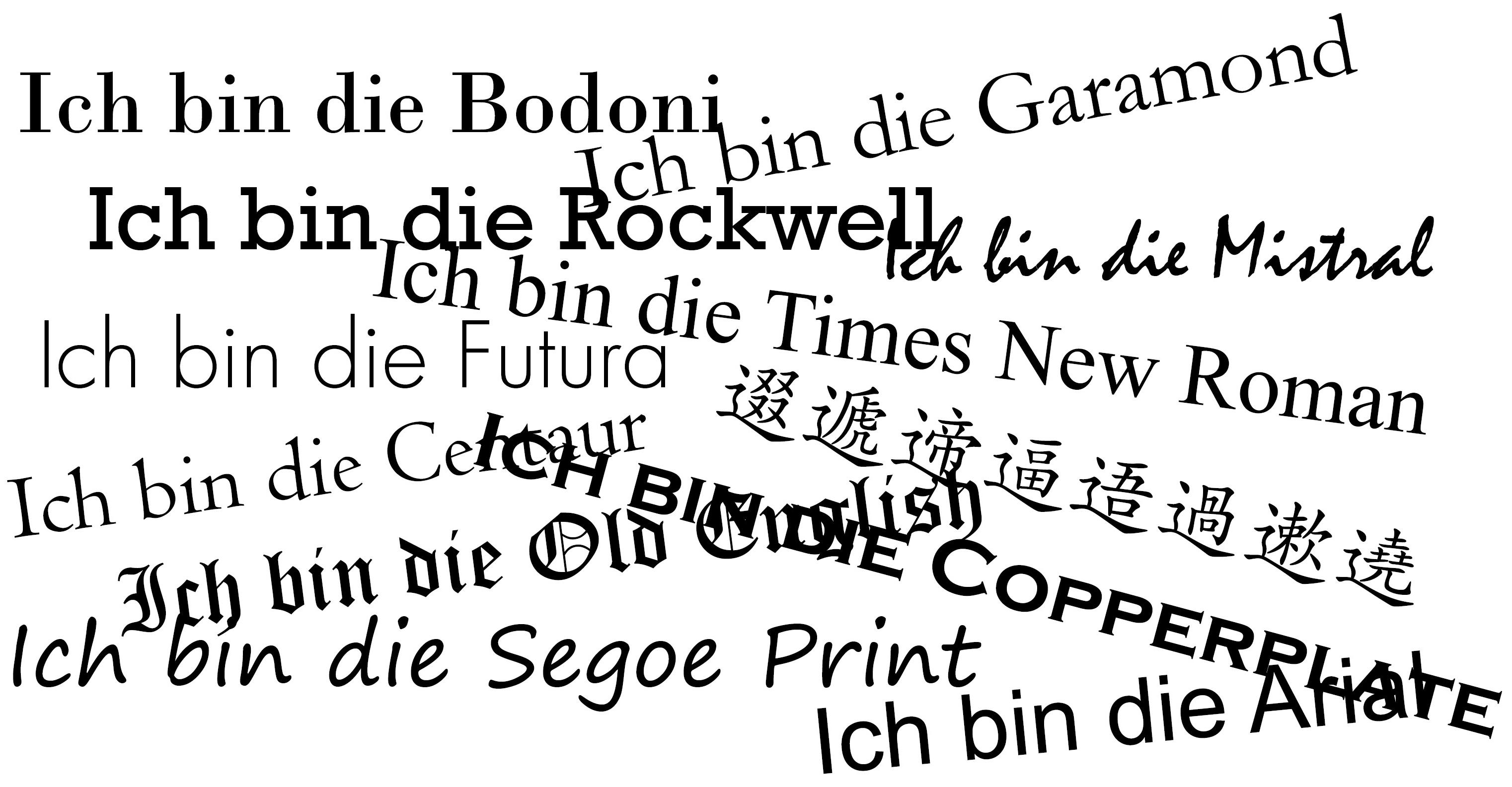 Schriftklassifikation